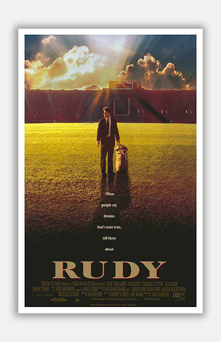 "Rudy - 11"" x 17"" Movie Poster"