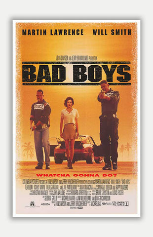 "Bad Boys - 11"" x 17"" Movie Poster"