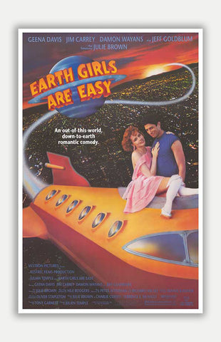 "Earth Girls are easy - 11"" x 17"" Movie Poster"