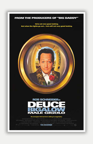 "Deuce Bigalow: Male Gigolo - 11"" x 17"" Movie Poster"