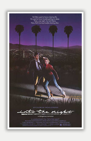 "Into the Night - 11"" x 17"" Movie Poster"