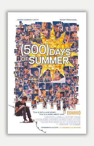 "500 Days of Summer - 11"" x 17"" Movie Poster"