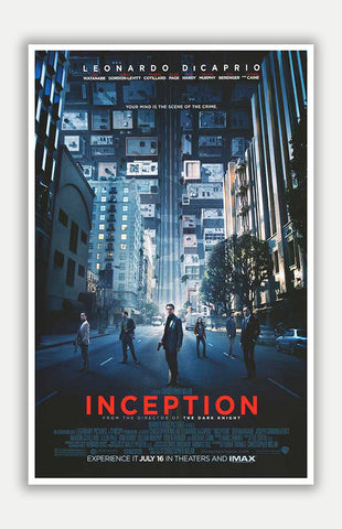 "Inception - 11"" x 17"" Movie Poster"