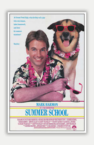 "Summer School - 11"" x 17"" Movie Poster"