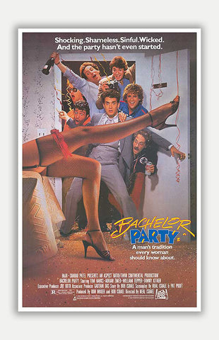 "Bachelor Party - 11"" x 17"" Movie Poster"