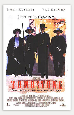 "Tombstone - 11"" x 17""  Movie Poster"