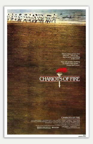"Chariots Of Fire - 11"" x 17""  Movie Poster"