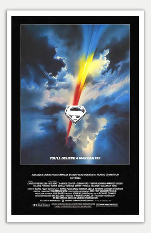 "Superman - 11"" x 17""  Movie Poster"