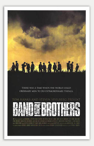 "Band of Brothers - 11"" x 17""  Movie Poster"