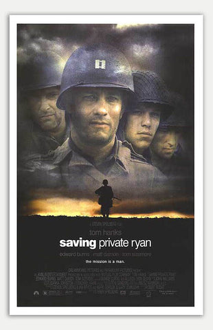 "Saving Private Ryan - 11"" x 17""  Movie Poster"