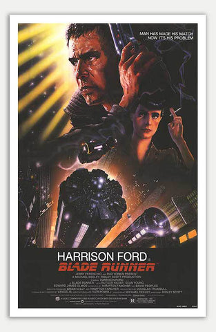 "Blade Runner - 11"" x 17""  Movie Poster"