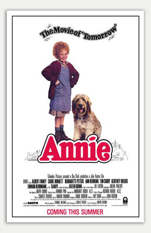 "Annie - 11"" x 17""  Movie Poster"