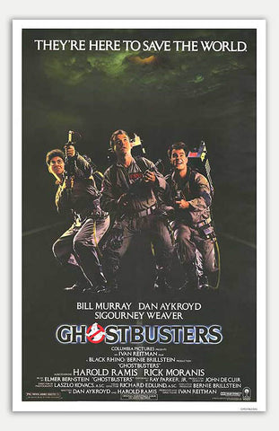 "Ghostbusters - 11"" x 17""  Movie Poster"