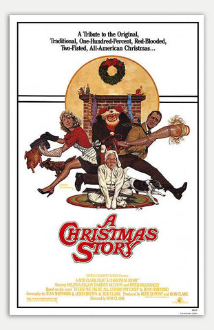 "Christmas Story - 11"" x 17""  Movie Poster"