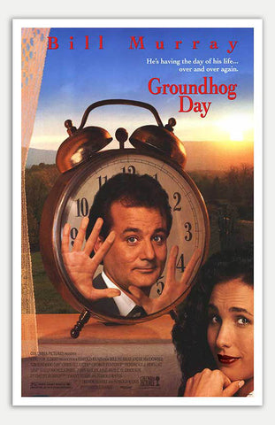 "Groundhog Day - 11"" x 17""  Movie Poster"
