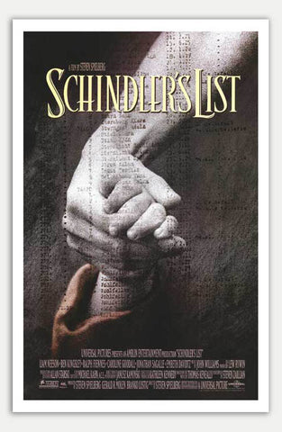 "Schindler's List - 11"" x 17""  Movie Poster"