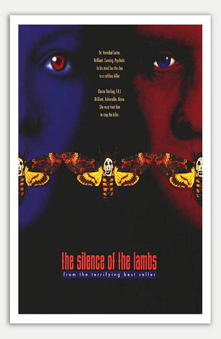"Silence of the Lambs - 11"" x 17""  Movie Poster"