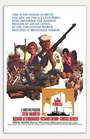 "Sand Pebbles - 11"" x 17""  Movie Poster"