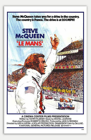 "Le Mans - 11"" x 17""  Movie Poster"