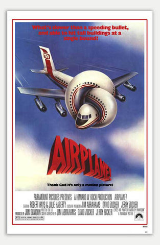 "Airplane! - 11"" x 17""  Movie Poster"