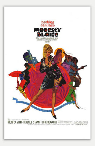 "Modesty Blaise - 11"" x 17""  Movie Poster"