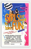 "Girls Just Want to Have Fun - 11"" x 17""  Movie Poster"