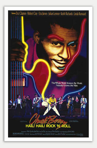 "Chuck Berry Hail! Hail! Rock 'n' Roll - 11"" x 17""  Movie Poster"