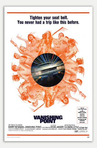 "Vanishing Point - 11"" x 17""  Movie Poster"