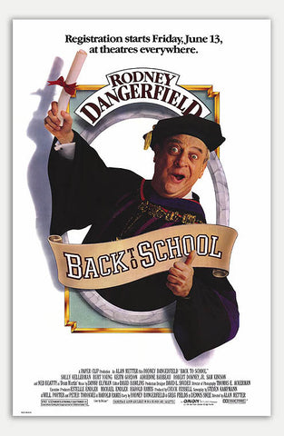 "Back to School - 11"" x 17""  Movie Poster"