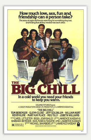 "Big Chill - 11"" x 17""  Movie Poster"