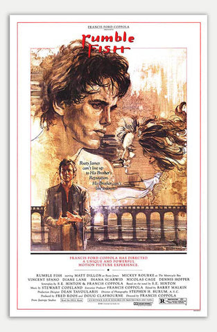 "Rumble Fish - 11"" x 17""  Movie Poster"