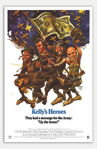 "Kelly's Heroes - 11"" x 17""  Movie Poster"