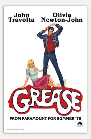 "Grease - 11"" x 17""  Movie Poster"
