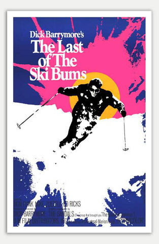 "Last of the Ski Bums - 11"" x 17""  Movie Poster"