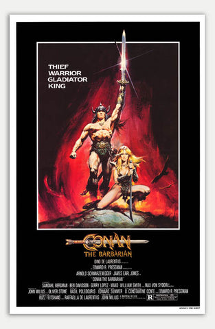 "Conan the Barbarian - 11"" x 17""  Movie Poster"
