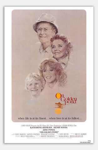 "On Golden Pond - 11"" x 17""  Movie Poster"
