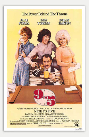 "9 to 5 - 11"" x 17""  Movie Poster"