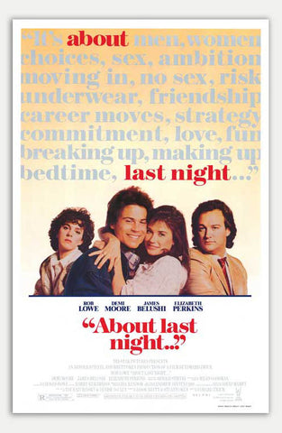 "About last night - 11"" x 17""  Movie Poster"