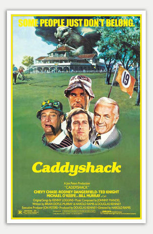 "Caddyshack - 11"" x 17""  Movie Poster"
