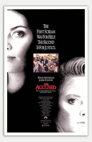 "Accused - 11"" x 17""  Movie Poster"