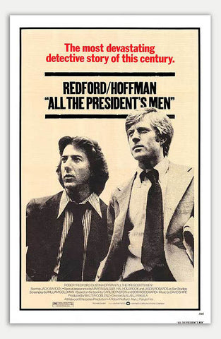 "All the president's men - 11"" x 17""  Movie Poster"