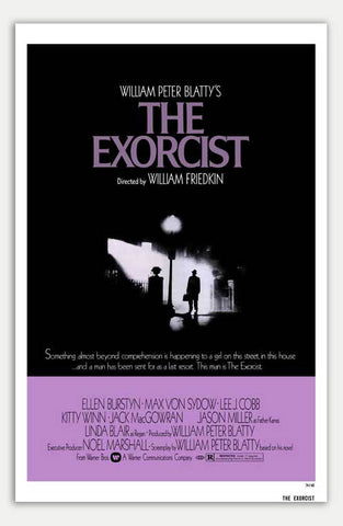 "Exorcist - 11"" x 17""  Movie Poster"