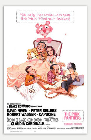 "Pink Panther - 11"" x 17""  Movie Poster"