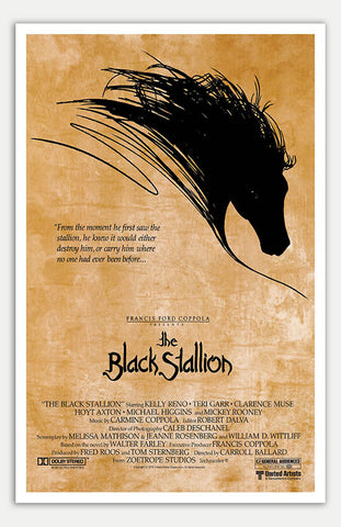 "Black Stallion - 11"" x 17""  Movie Poster"