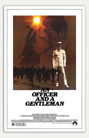 "Officer and a Gentleman - 11"" x 17""  Movie Poster"