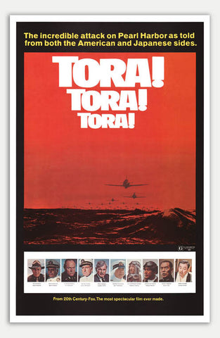 "Tora Tora Tora - 11"" x 17""  Movie Poster"
