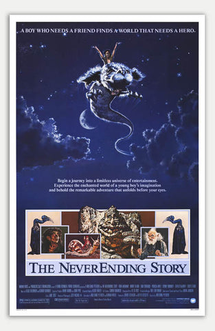 "Neverending Story - 11"" x 17""  Movie Poster"