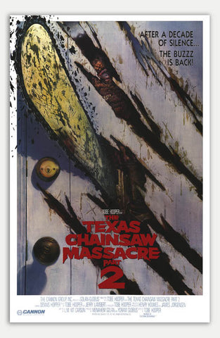 "Texas Chainsaw Massacre 2 - 11"" x 17""  Movie Poster"