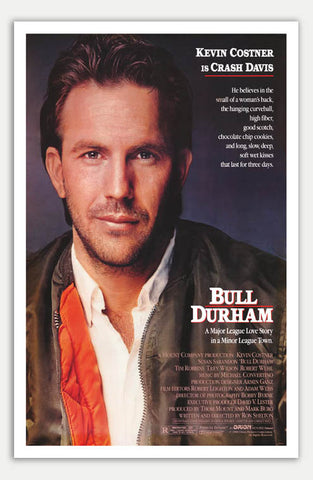 "Bull Durham - 11"" x 17""  Movie Poster"
