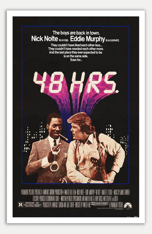 "48 hrs - 11"" x 17""  Movie Poster"